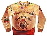 Green Turtle T-Shirts Sudadera para Hombre - Sudaderas Unisexo 3D Divertidas Estampado Cuerpo Hombre Medium Multicolor