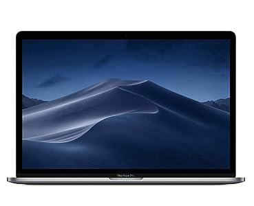 Apple MacBook Pro (15-inch Retina, Touch Bar, 2.6GHz 6-Core Intel Core i7, 16GB RAM, 512GB SSD) - Space Gray