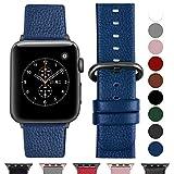 Cinturino per Apple Watch 42 mm/44 mm, Cinturino Pelle Compatibile con Apple Watch Serie 5, Serie 4,...