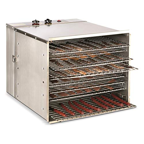 Find Discount Guide Gear Stainless Steel Dehydrator, 10 Tray