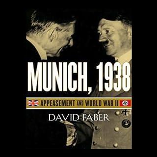 Munich, 1938 audiobook cover art