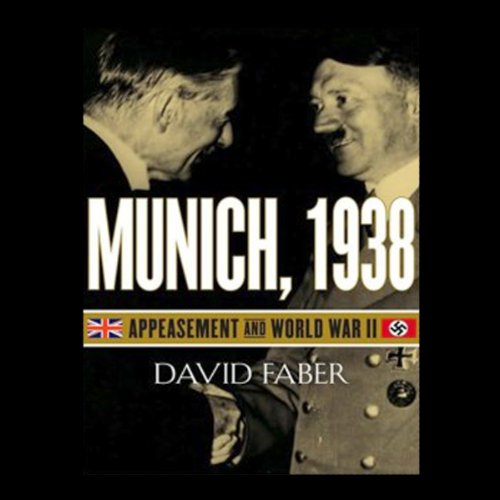Munich, 1938 audiobook cover art