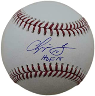 Signed Chipper Jones Ball - OML HOF 11895 - JSA Certified - Autographed Baseballs