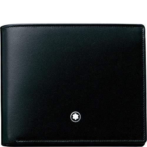 Montblanc MEISTERSTÜCK BRIEFTASCHE, 6 CC No. 103384 103384 Unisex - Erwachsene Portemonnaies, na schwarz (na)