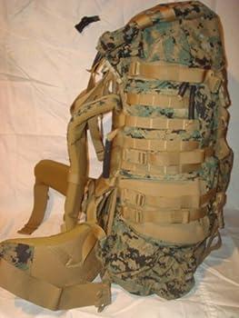 USMC MARPAT ILBE Main Pack Gen 2 with Lid Belt Straps Radio Pouch