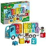 LEGO DUPLO My First - Camión del Alfabeto, Juguete de Construcción de Vehículo para Aprender el Abecedario, Juguete...