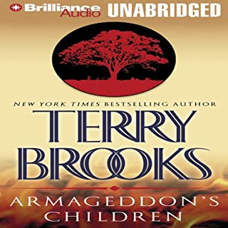 Armageddon's Children audiobook cover art