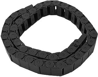 Kabeldrager sleepketting, 1 meter nylon kabelketting draad graveermachine accessoire 15mm x 30mm voor flexibele kabels en ...