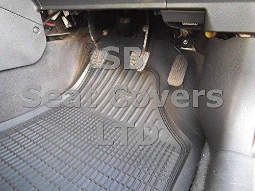 R - Juego de 5 alfombrillas para coche Citroën XSARA Picasso, color gris