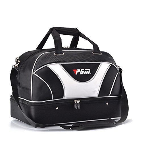 PGM Golf Duffle Bag Double-Deck Golf Clothing Bag,Boston Bag,