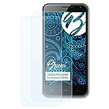 Bruni Schutzfolie kompatibel mit Homtom HT3 Pro Folie, glasklare Bildschirmschutzfolie (2X)