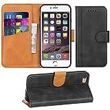 Adicase iPhone 6 Hülle Leder Wallet Tasche Flip Case