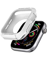 Spigen Apple Watch Seri 6/SE/5/4 (40mm) ile Uyumlu Kılıf Rugged Armor / White - 061CS24482