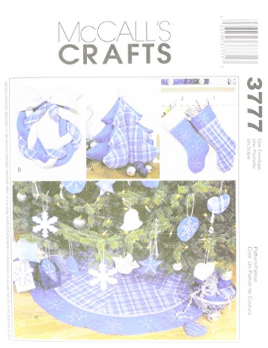 McCall's Patterns M3777 Christmas Decorating, One Size Only