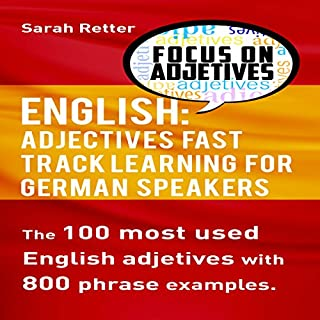 English: Adjectives Fast Track Learning for German Speakers cover art