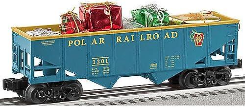 LIONEL 6-26445 Polar Railroad Hopper w Presents