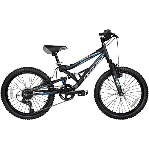"20"" Hyper Shocker Bike (Black, Shocker Bike) (Black/Blue)"