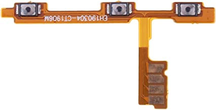 MUJUN Cellphone Accessories Power Button & Volume Button Flex Cable, Repair Part Replacement for Huawei Nova 4e
