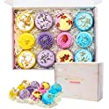 12-Pack Comfook Fizzies Moisturizing Spa Bombs Gift Set