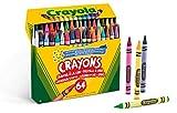 Crayola-52-6448 Set 64 ceras Crayola 14x12cm, Multicolor (52-6448) , color/modelo surtido