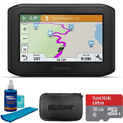 Garmin Zumo 396LMT-S Motorcycle GPS Navigator Bundle with...