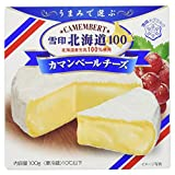 雪印メグミルク 雪印北海道100カマンベールチーズ100g