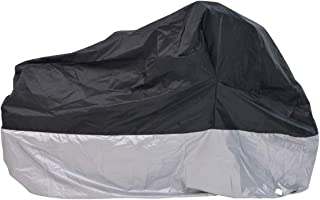 H&ZT Adult Tricycle Cover Bike Cover, Outdoor Bicycle Motocycle Storage Cover, Heavy Duty Ripstop Material, Waterproof & Anti-UV (75