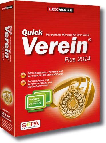 QuickVerein Plus 2014 (Version 6.00)