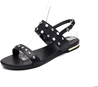 BalaMasa Womens ASL06503 Cow Leather Fashion Sandals