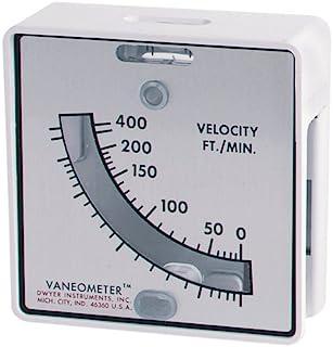 Dwyer Vaneometer Swing Vane Anemometer, 480, 25-400 FPM