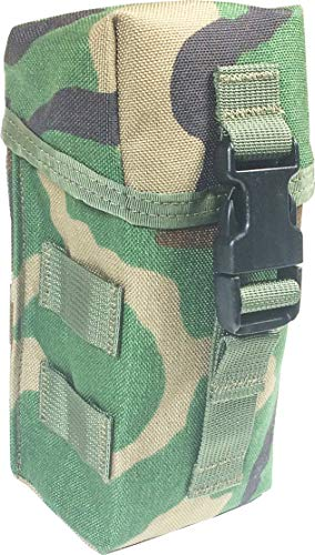 Fire Force 8937 Military Airborne Series Single Pocket Triple Mag Pouch MOLLE Made in USA (Woodland)