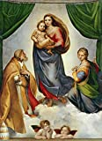 ART ALPHA - Kunstdruck - Raffael - Sixtinische Madonna