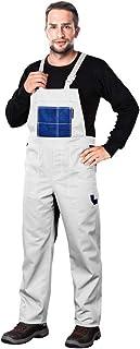 Reis Mmswn_62 Multi Master Protective Bib-Pants, White-Blue, 62 Size