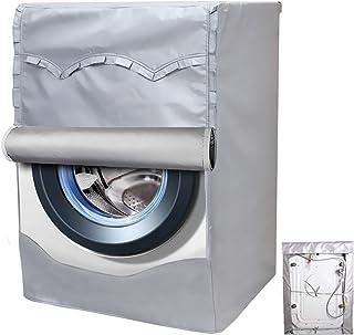 洗濯機カバー ドラム洗濯機専用 防水日焼け止め ドラム式洗濯機カバー <日本正規1年保証>防水生地 (XL60*64*85cm)