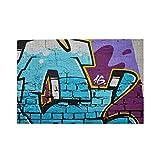 Airmark Rompecabezas de 1000 Piezas,Rompecabezas de imágenes,Imagen Detallada Color Graffiti Dibujo Fondo,Juguetes Puzzle for Adultos niños Interesante Juego Juguete Decoración para El Hogar