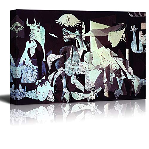 wall26 - Canvas Wall Art - Guernica by Picasso