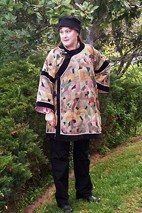 Chinese Jacket Pattern Folkwear 114 All Sizes 6 to 16 (Bust 31 to 44)