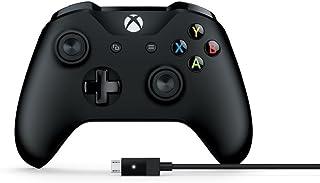 マイクロソフト ゲームコントローラー Bluetooth/有線接続/xbox one/Windows対応 PC用USBケーブル同梱 4N6-00003