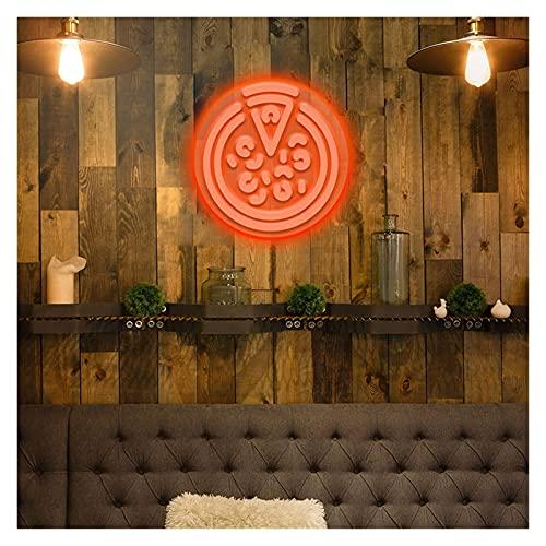 Ideal Custom Shop Signo de neón Llevado Luces Personalizadas Logotipo de Pizza Luz de neón Interior Luz para la casa de la casa de la casa Decoración de la iluminación Placa Sconence