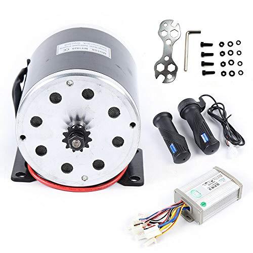OUKANING Kit de conversión de Ebike Scooter eléctrico Motor Cepillo Controlador del Motor Acelerador 36V 800W