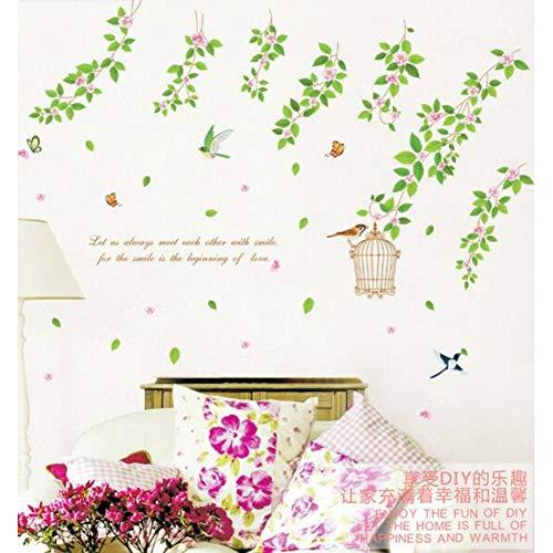 QINGYU Wandaufkleber,Hintergrund des Wohnzimmers Das Schlafzimmer schmücken Hausrat Wandsticker