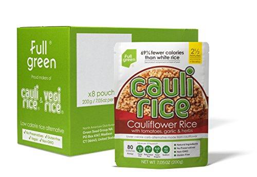 Vegi Rice Fullgreen Kauli Reistomate Knoblauch und Kräuter, 8 Stück