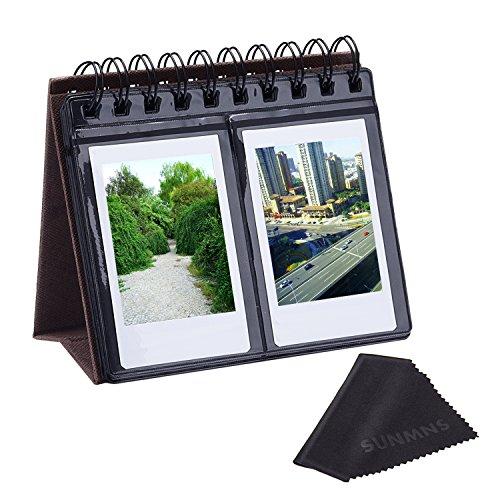 Calendrier Style Album photo Sunmns Desk Table pour Fujifilm Instax Mini 7s 8 50s 70 90 26 9 / Polaroid Z2300 PIC-300P Snap Zip Films