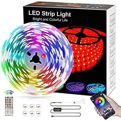 LED Strip Light16.4ft,LED Lights Room Decor for...