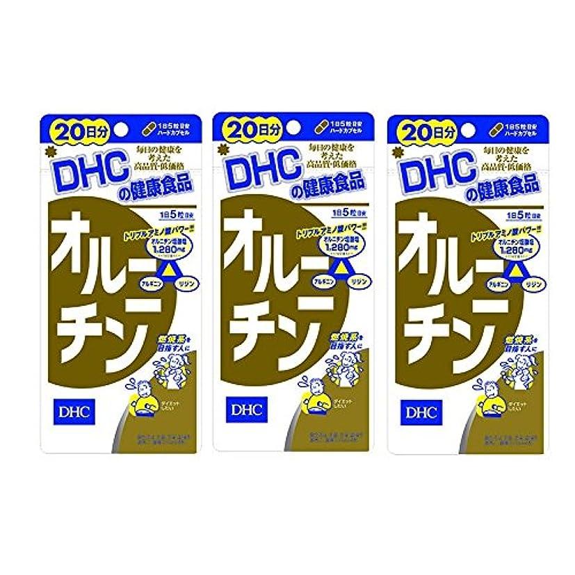 実際の論争降下【セット品】DHC オルニチン 20日分 100粒 3個セット