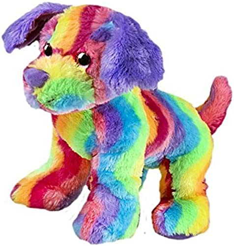 Candy the Rainbow Dog 8 (20cm) Stuff Build Your Own Bear Kit No Sewing by Teddy Mountain