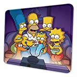 The Simpsons Rectangle Non-Slip Rubber Mousepad Gaming Mouse Pad 7 X 8.6 in
