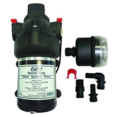 Nuova Rade 1.8bar 12V Wasserpumpe 8l/min 210x110x120 (LxBxH)