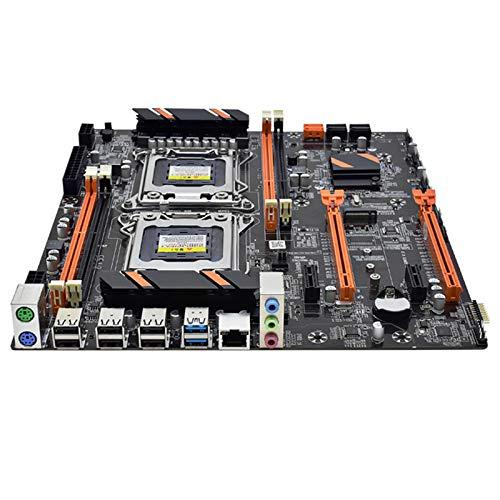 Andifany X79 Dual CPU Motherboard LGA2011 Motherboard DDR3 REG ECC USB3.0 Sata3.0 with Xeon Processor Motherboard E5 C1C2V1V2