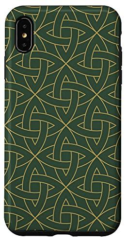 iPhone XS Max Celtic Knot, Irish Folklore, Book of Kells Case